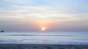 Andaman overzeese zonsopgang stock videobeelden