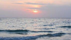 Andaman overzeese zonsopgang stock footage