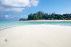 Andaman paradise beach white sand Stock Photo
