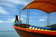 Andaman sea. Beautiful longtail boat in Thailand Stock Image