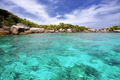 Andaman Sea. Similan island Andaman sea Thailand Royalty Free Stock Photo