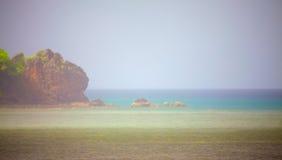 Andaman Sea. Tropical beach, Andaman Sea Shore in Thailand Stock Images