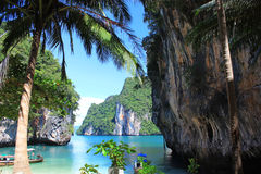 Andaman Sea. The nature of Thailand, island paradise vacation in Thailand, a tropical landscape Stock Images
