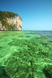Andaman sea and beach Stock Photo