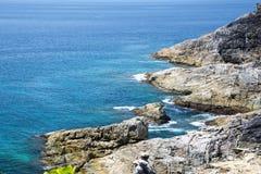 Andaman Sea, beautiful View Point at Tachai Island(Koh Ta Chai) Royalty Free Stock Image