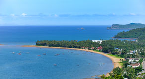 Andaman sea. In Chumphon, Thailand Royalty Free Stock Photography