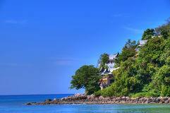 Andaman Sea coast in Puket island Stock Photos