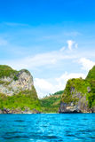 Andaman Sea Island. Jungle island in Andaman Sea, Krabi, Thailand Royalty Free Stock Photography