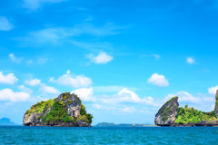 Andaman Sea Islands Royalty Free Stock Images
