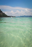 Andaman sea, Krabi Thailand. Emerald of the Andaman sea, Krabi Thailand Stock Photo