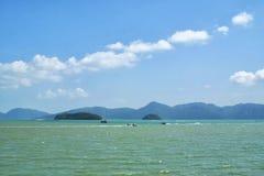 Andaman sea near Langkawi island, Malaysia Royalty Free Stock Image