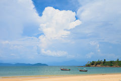 Andaman Sea. Payam Beach in Andaman Sea Royalty Free Stock Image