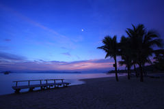 Andaman Sea. Payam Beach in Andaman Sea Stock Image