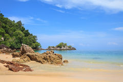 Andaman Sea. Payam Beach in Andaman Sea Stock Photography