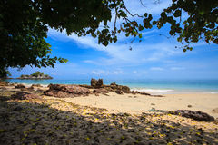 Andaman Sea. Payam Beach in Andaman Sea Royalty Free Stock Photography