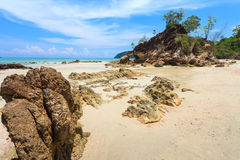 Andaman Sea. Payam Beach in Andaman Sea Royalty Free Stock Photo