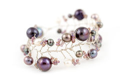 Andaman sea pearl bracelet Royalty Free Stock Photos