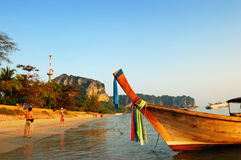 Andaman sea, Phra Nang beach Royalty Free Stock Images