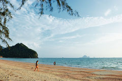 Andaman sea, Phra Nang beach Stock Photography