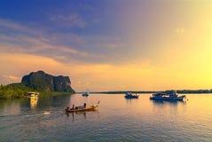 Andaman Sea. Shoot on the ship Stock Photos