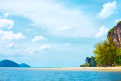 Andaman Sea Shore Stock Photo