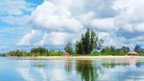 Andaman Sea Shore. Tropical beach, Andaman Sea Shore in Thailand Royalty Free Stock Photography