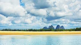 Andaman Sea Shore Stock Image