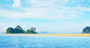 Andaman Sea Shore Stock Images