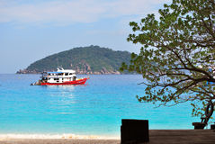 Andaman sea, Similan Island Royalty Free Stock Photo