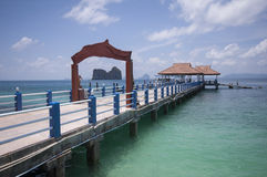 Andaman sea. In south of Thailand Stock Images