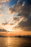 Andaman Sea Sunset royalty free stock photos
