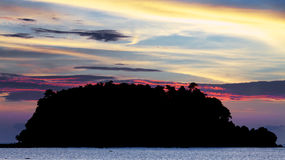 Andaman Sea At Sunset Royalty Free Stock Photography