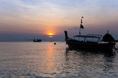 Andaman sea on sunset Royalty Free Stock Image