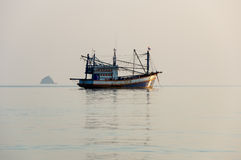 Andaman sea on sunset Royalty Free Stock Photography