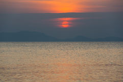 Andaman sea on sunset Stock Photo