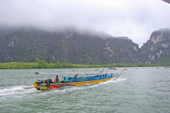 Andaman sea Thailand boat ride Stock Photo