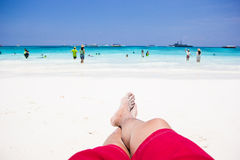 Andaman Sea in Thailand Royalty Free Stock Image