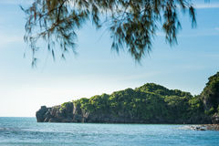 Andaman sea Thailand. Tropical beach, Andaman Sea, Thailand Stock Image