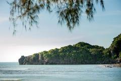 Andaman sea Thailand. Tropical beach, Andaman Sea, Thailand Stock Photos