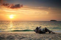 Andaman-Sonnenaufgang szenisch, Lipe Stockbild