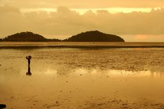 Andaman Sunrise Royalty Free Stock Photography