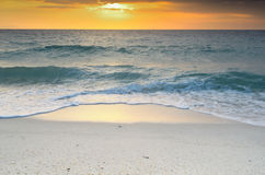 Andaman sunrise in seascapes Stock Images