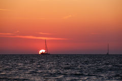 Andaman sunset Royalty Free Stock Photography