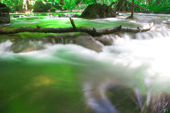 Andaman Thailand outdoor photography of waterfall in rain jungle forest. Trees, PHUKET, Stock Photo