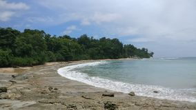 Andaman wyspy, plaża obraz stock