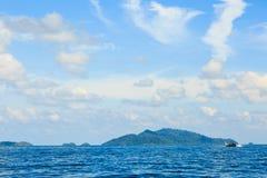 Andaman y pescador Fotos de archivo libres de regalías