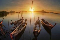 Andamanboot met lange staart Royalty-vrije Stock Foto