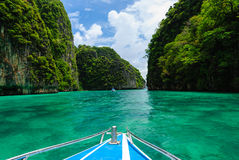 Andamanoverzees in Krabi, Thailand Stock Afbeelding