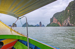 Andamanoverzees Thailand stock afbeelding