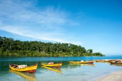 Andamans. Many faces of beautiful Andaman islands in India stock photography